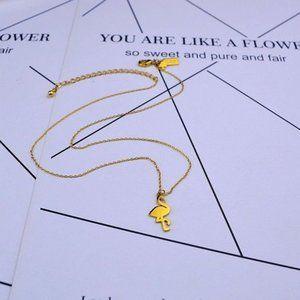 Kate Spade Flamingo Pendant Necklace